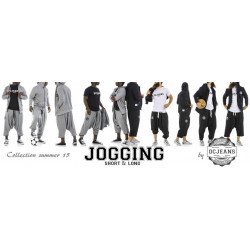 Sarouel jogging long  - Dc Jeans