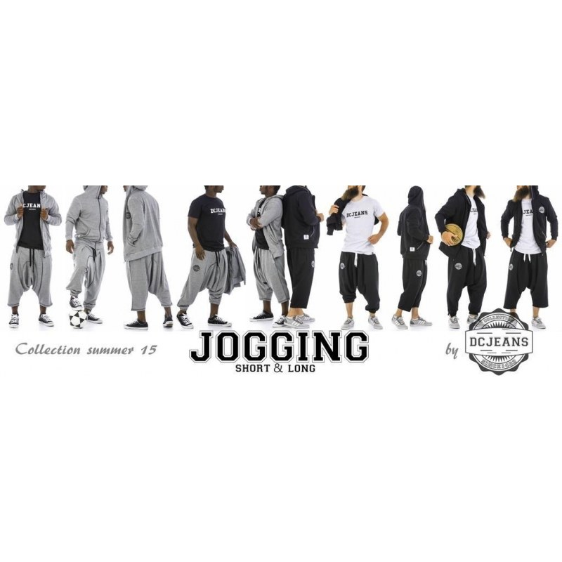 Sarouel jogging court - DC Jeans