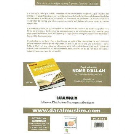 Commentaire du livre les leçons importantes - Cheikh Ibn Bâz - Dar Al Muslim