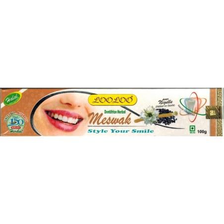 Dentifrice au siwak et graine de nigelle