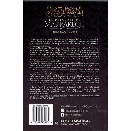 Le precepte de Marrakech