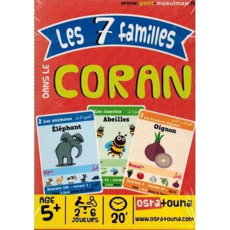 jeux les 7 familles dans le Coran