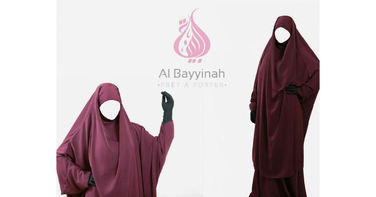 Jilbab NIda 2 pieces