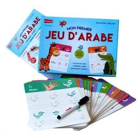 Mon premier jeu d'arabe - Editions Goodword