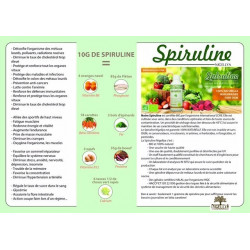 Spiruline 200 GELULES