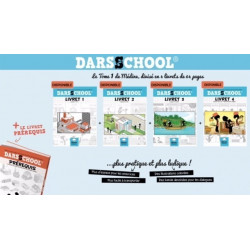 Pack Methode Darsschool (Prérequis + Livret 1 à 4)