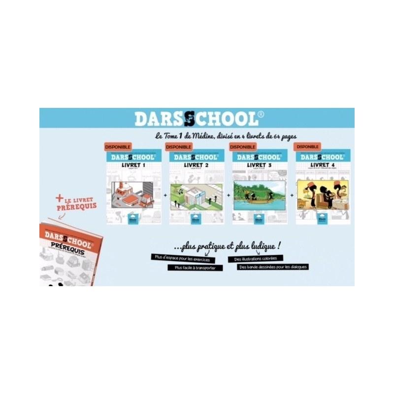 Pack Methode Darsschool (Prérequis + Livret 1 à 4)