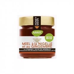 Miel à la Nigelle et au Gingembre 335g - ASSIL