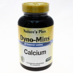 Dyno Mins Calcium - 90 comprimés - Nature's Plus