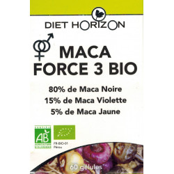 MACA FORCE 3 BIO - Diet Horizon