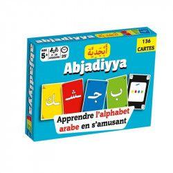 Jeu de cartes « Abjadiyya » - Apprendre l'alphabet arabe en s'amusant - Osratouna