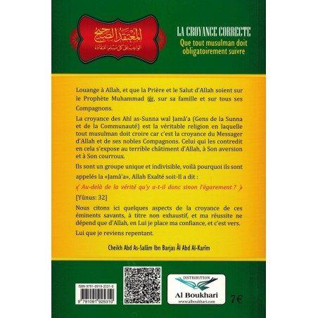 La Croyance correcte - Shaykh Abd As-Salâm Ibn Barjas - Ibn Badis