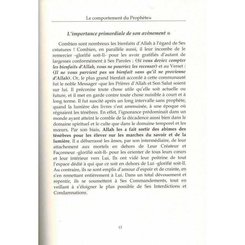 Le Comportement du Prophète - Shaykh 'Abd Al-Muhsin Al-'Abbad - Dar Al Muslim
