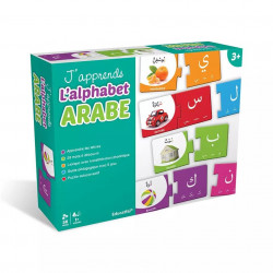 J'apprends l'alphabet Arabe (Dès 3 ans) - Educatfal