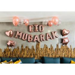 Le pack de ballons Eid Mubarak