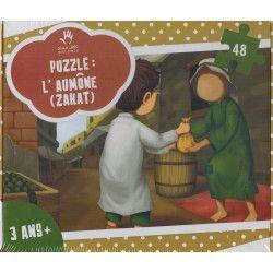 Puzzle sur l'aumône (Zakat) - MUSLIMKID