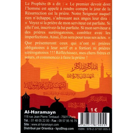 Pourquoi ne fais-tu pas la Prière ? - Al-Haramayn