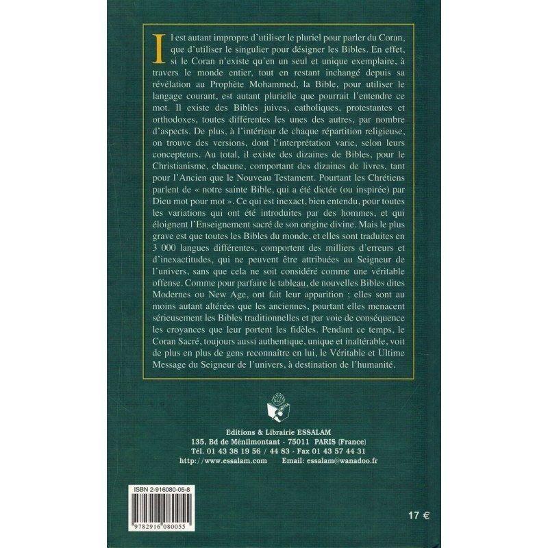 Les Bibles et le Coran - Mohammed Yacine Kassab - ESSALAM
