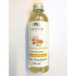 Huile d'Amandes douces (Almond) - 100% Naturel - 100 ml - Tameem