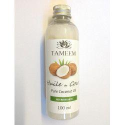 Huile de Coco (Coconut) - 100% Naturel - 100 ml - Tameem