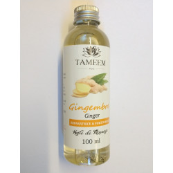 Huile au Gingembre (Ginger) - 100% Naturel - 100 ml - Tameem
