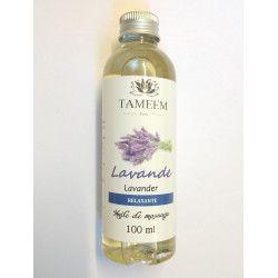 Huile à la Lavande (Lavander) - 100% Naturel - 100 ml - Tameem
