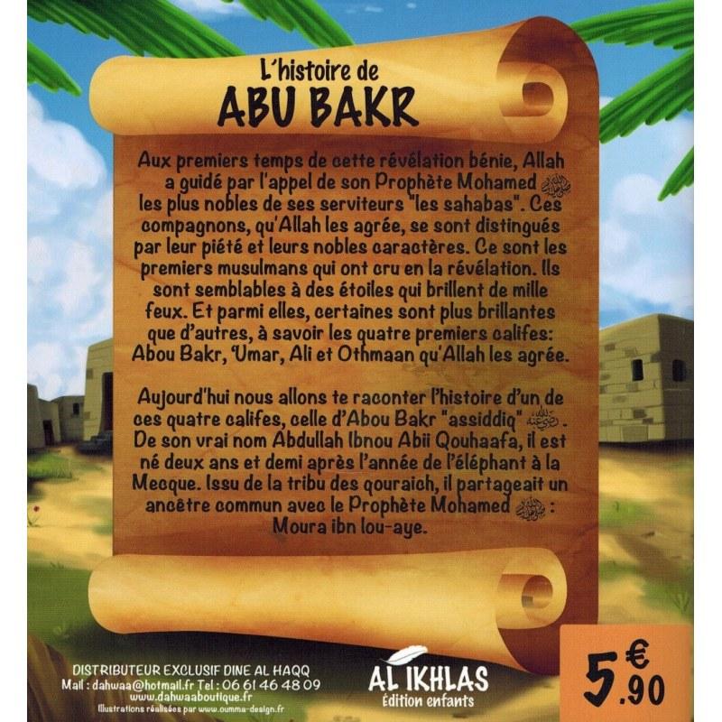 L'histoire de Abu Bakr - 3/6 ans - Al-Ikhlas