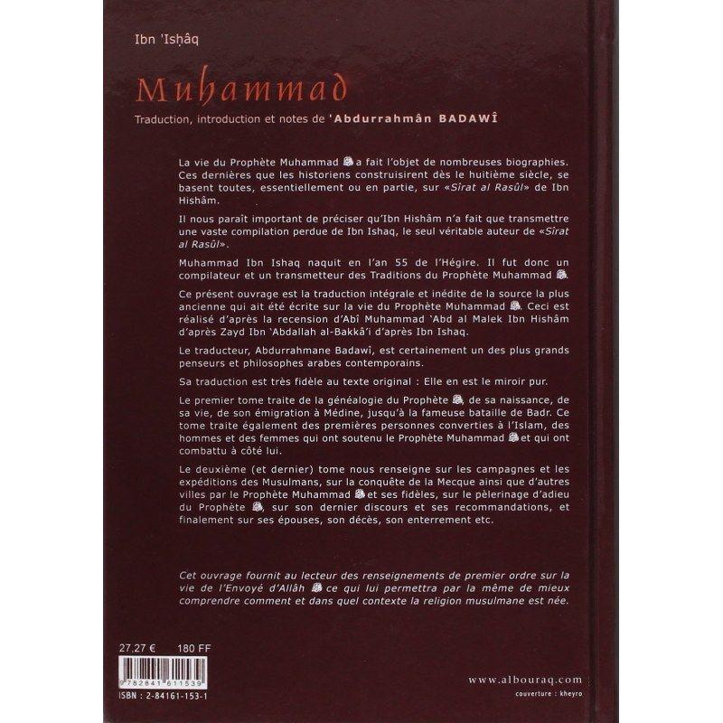 La vie du Prophète Muhammad, l'envoyé d'Allah - Tome 1 & 2 - Ibn Ashâq