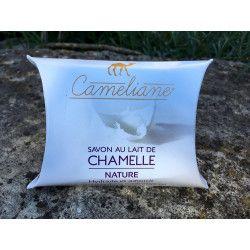 Savon végétal au Lait de Chamelle - NATURE - 100g - 100% Naturel - Came-idée