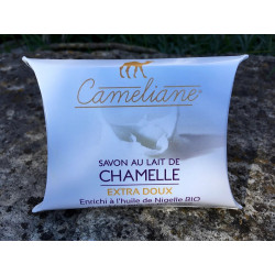 Savon végétal au Lait de Chamelle - EXTRA-DOUX - 100g - 100% Naturel - Came-idée
