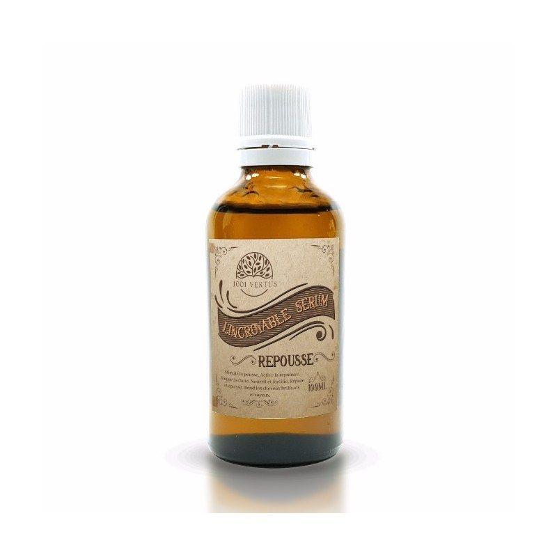 L'Incroyable Serum (Huile) - Repousse de cheveux - 100% Naturel - 50 ml - 1001vertus