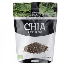 Chia Bio en graines - 200g - Super Food - Karamats