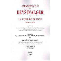 Correspondance des Deys...