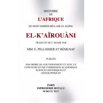 Histoire de l'Afrique de Mohammed Ben Abi El-Raïni Al-Kaïrouâni