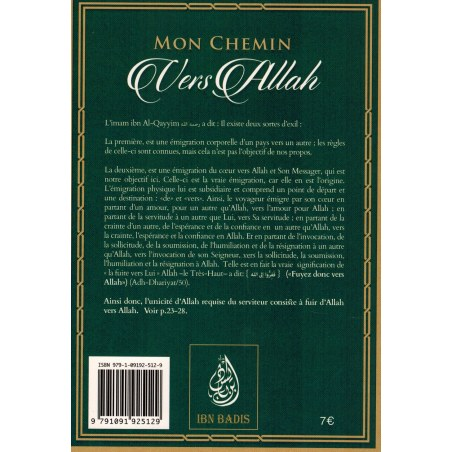 Mon Chemin vers Allah - Ibn Qayyim Al-Jawziyya - Ibn Badis