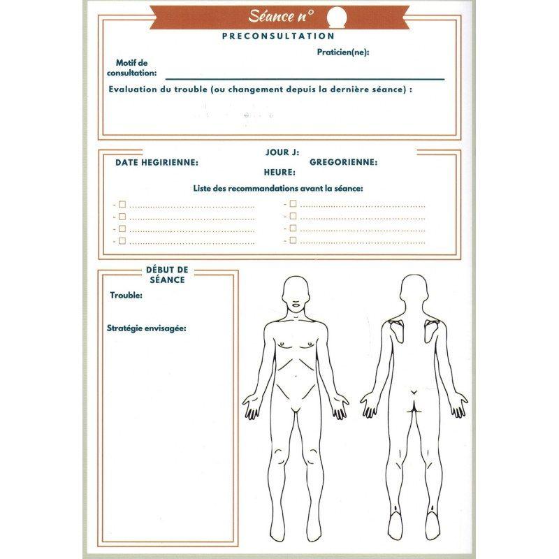 Mon carnet de suivi Hijama (incisiothérapie) - HijaManager
