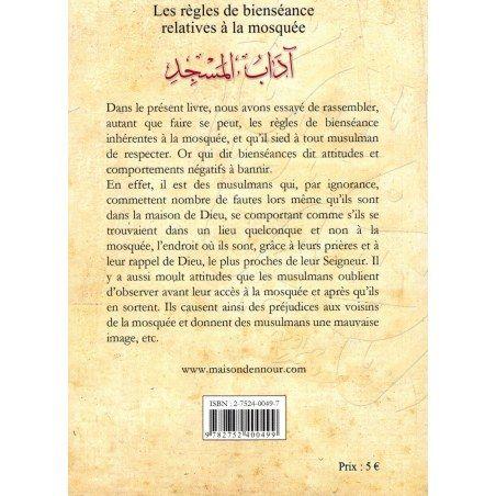 Les Règles de Bienséance relatives à la Mosquée - Abderrazak Mahri - Maison d'Ennour