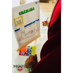 Kit Toile à Peindre - Chahada - CREATIV' ARKANE - Mooslim Toys