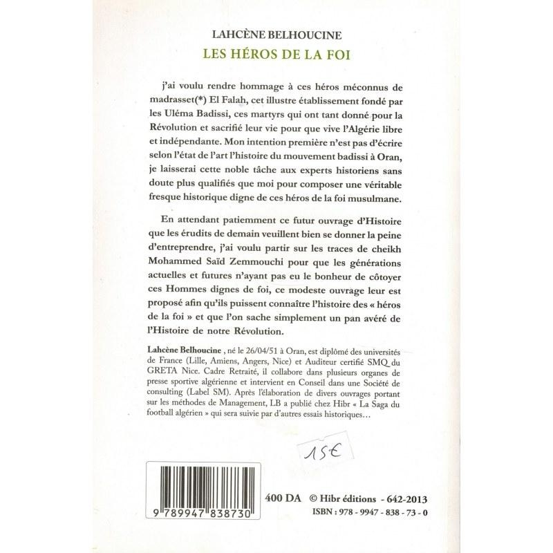 Les Héros de la Foi - Madresset El Falah - Lahcène Belhoucine - Hibr éditions