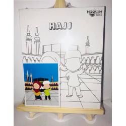 Kit Toile à Peindre - Hajj (Pèlerinage) - CREATIV' ARKANE - Mooslim Toys
