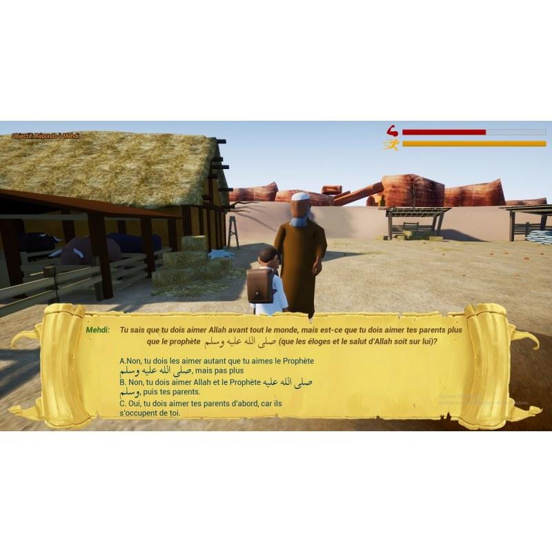 Jeu éducatif religieux - Les Aventures des Zaki - PC (Windows)