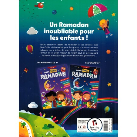Mon Cahier de Ramadan - Les Grands (7+) - Learning Roots