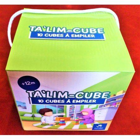 TA'LIM-CUBE - 10 Cubes à Empiler - Apprendre sa religion et l'Arabe - MUSLIMKID