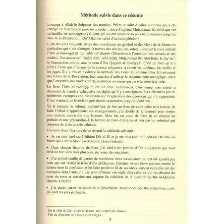 À l'Intention des Muftis et des Imitateurs des Savants - Imâm Ibn Al-Qayyim Al-Jawziyya - Edition ALMADINA