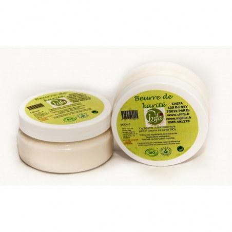 Beurre de Karité Bio - 100 ml - Chifa