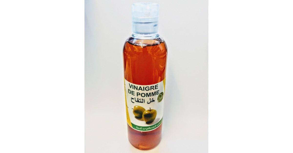 Vinaigre de Pomme - 250 ml - 100% Naturel - Chifa