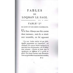 Fables de Loqman, surnommé le Sage - J. Marcel
