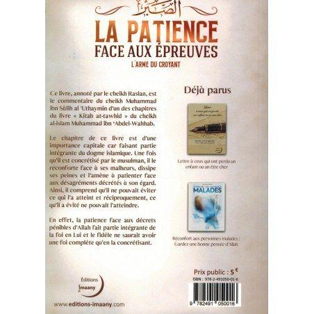 La Patience Remède Face aux Épreuves - L'Arme du Croyant - Editions Imaany