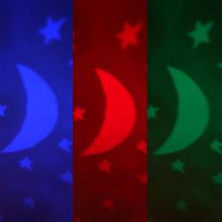 Jeu éducatif Coranique de Lit pour Bébé + Télécommande Sans-fil (Moon & Stars Quran Cot Mobile)