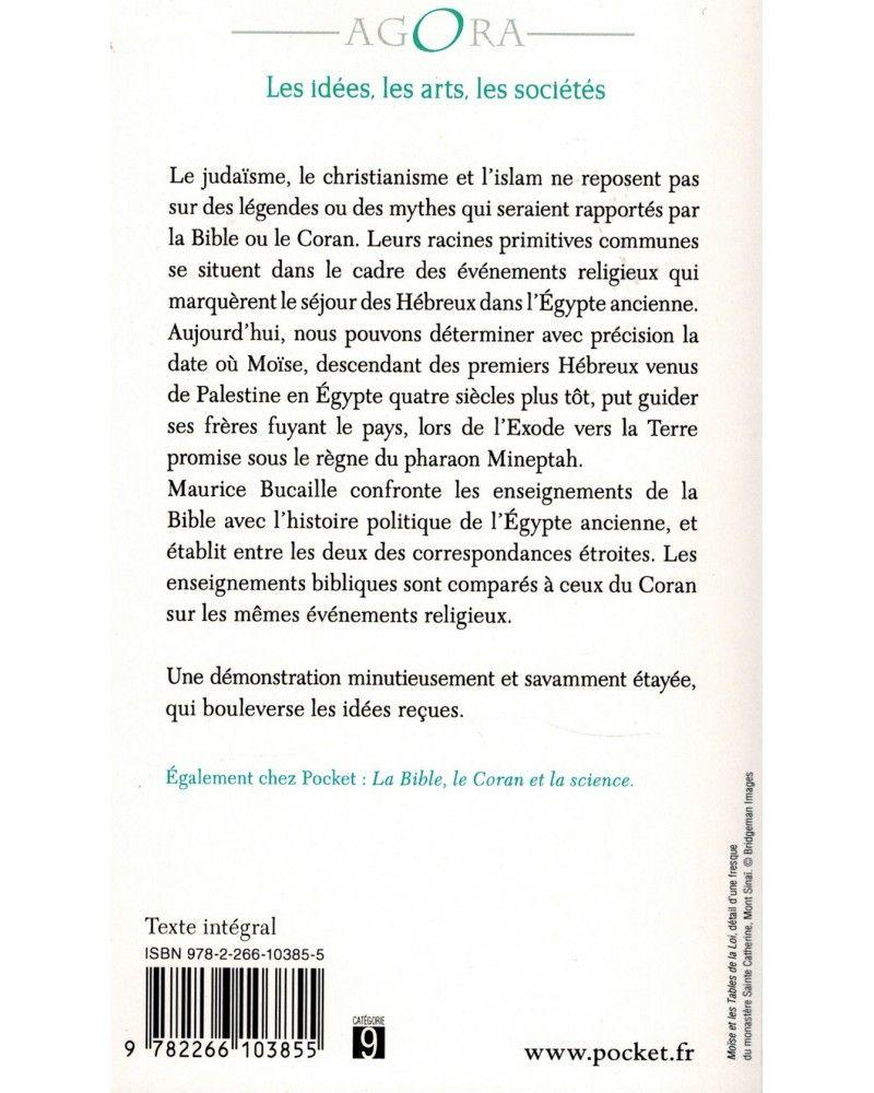 Moïse et Pharaon - Les Hébreux en Egypte - Quelles concordances des Livres saints avec l'Histoire ? - Maurice Bucaille